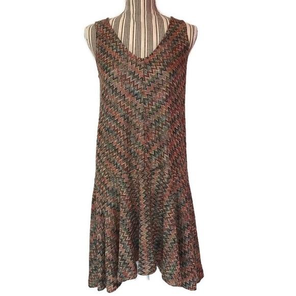 fff006dbeb53 Anthropologie Dresses | Anthro Maeve Westwater Chevron Drop Waist ...